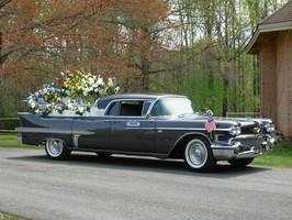 Restored hearse