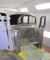 Restoring a cars chassis